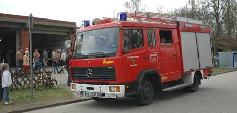 Eine Fahrzeug- und Geräteschau gehört dazu. Foto: ARCHIV TRAVEMUENDE AKTUELL