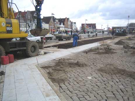 Die Bauarbeiten am Fährplatz sind abgeschlossen. Foto: <b>Hinrichs & Partner</b>