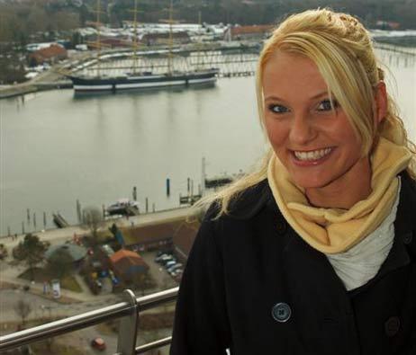 Melanie Clausen freut sich schon auf aufregende Tage in Köln. Foto: <b>KARL ERHARD VÖGELE</b>