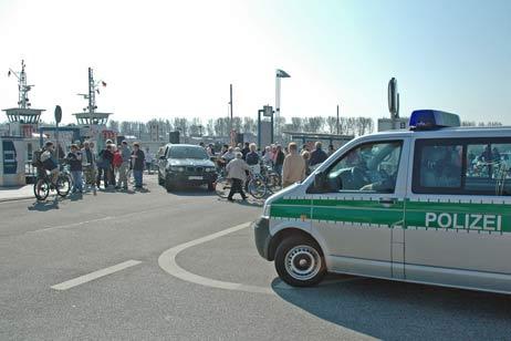Aufgrund der Demonstration wird an der Priwallfähre mit Verkehrsbehinderungen gerechnet. Foto: <b>ARCHIV TA</b>