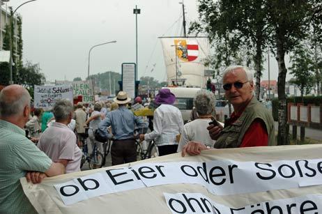 Wolfgang Hovestädt will am Samstag wieder demonstrieren. Foto: <b>ARCHIV TA</b>