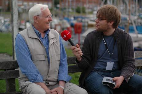 Wolfgang Hovestädt gab am Sonntag FM Lübeck ein Interview. Foto: <b>TA</b>