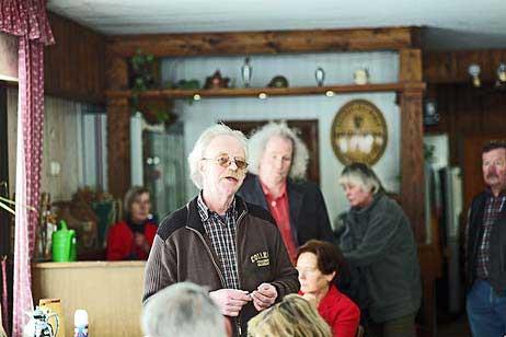 Der erste Vorsitzende der BiP Eckhard Erdmann bei der Begrüßung. Alle Fotos: <b>KARL ERHGARD VÖGELE</b>