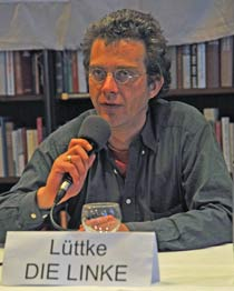 Ragnar Lüttke (DIE LINKE). Foto: <b>ARCHIV TA</b>