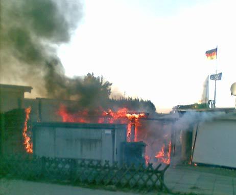 Auf dem Hof hinter dem bekannten Restaurant kam es zu einem Brand. Dabei soll ein Sofa eine Rolle gespielt haben. Foto: <b>WM</b>