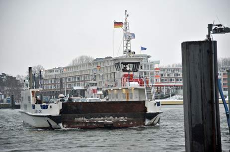 Travemünde Aktuell: Priwall-Fähre: Ab 01. Januar 2011 höhere Preise