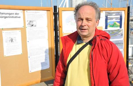 Dietrich Stempel, Entwickler des Verkehrskonzeptes der BiP. Foto: <b>ARCHIV TA</b>