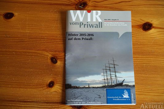 Die neue Ausgabe »Wir vom Priwall« berichtet über die Flüchtlingsarbeit auf der Halbinsel. Foto: <b>TA</b>