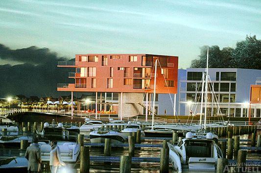 Travemünde Aktuell: Waterfront: Entwürfe für die Sonderbauten sind komplett