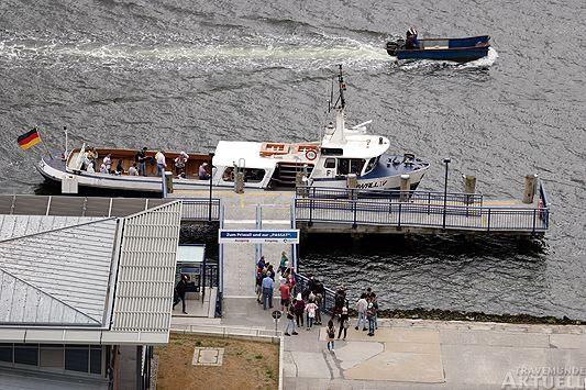 Travemünde Aktuell: Norderfähre Priwall VI ausgefallen