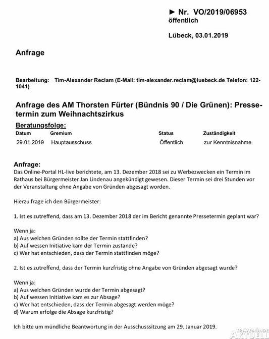 Lübecker Tageszeitung